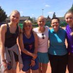 2015 - Dames IV  Vice-championnes Provinciales  S. Petlik - A. Lenears R. Muraille - S. Vastmans  M. Pétrisinec