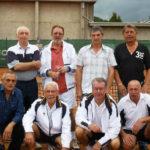 2011 -  Messieurs  Div. II  55 ans Champion Provincial          M. Orban - G. Lambert - J-P. Engelborghs - M. Bawin        J-C. Monpellier - W. Bodart - A. Ponthir - A. Derison (absents: J. Vastmans- M.