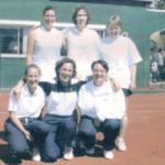 2001 - Dames II  Finalistes Provinciales  C. Filibert - C. Servais - N. Macors - C. Ponthier -Vandenbosh - S. Bodart