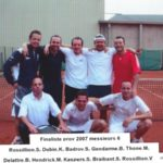 2007 -  Messsieurs VI  Vice Champion Provincial