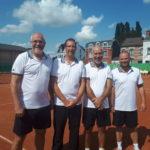 2018 - Messieurs 45  Div. II   Champion Provincial        A. Hanussek F. Engelborghs D. Hanussek -M. Ennen