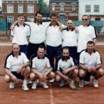 2000 - Messieurs V  Champion Provincial M. Lagneau - E. Massart - A. Lambrechts - M. Duninico - JC. Monpellier - A. Derison - W. Renier - S. Salsalone - F. Massart