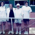 2002 - Dames II  Championnes Provinciales  C. Servais - S. Bodart - S. Vastmans - C. Filibert